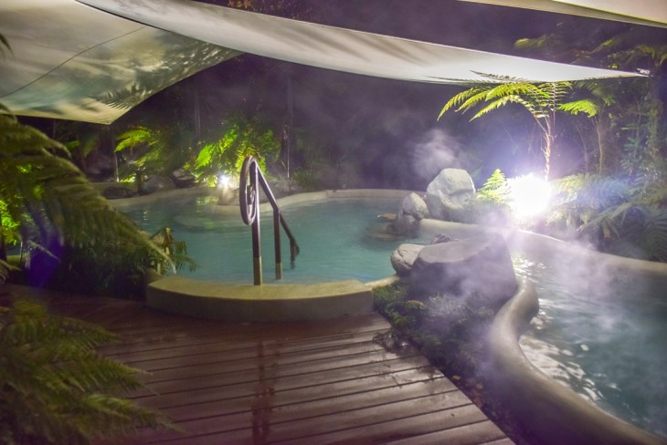 The franz Josef Hot springs