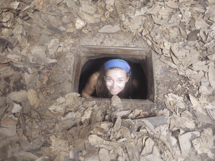 the chu chi tunnels