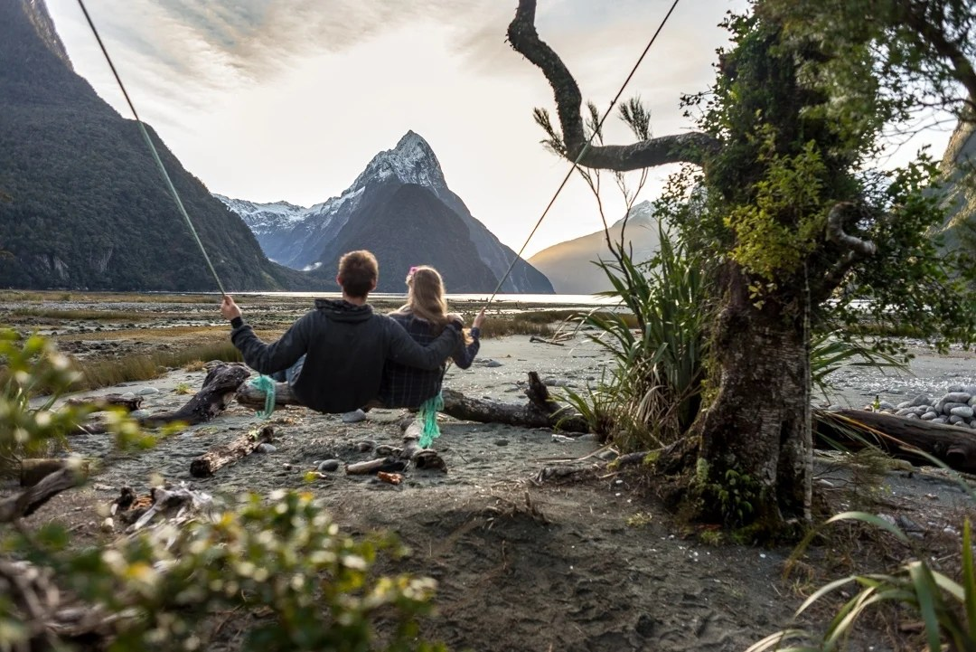The Best Photo (Secret) Spot in Milford Sound: The Milford Sound Swing