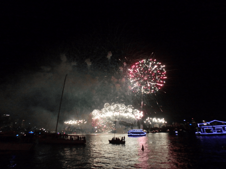 nye celebration in sydney