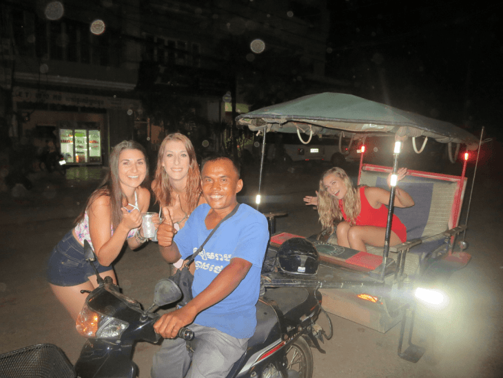 siem reap city is the gateway to angkor wat