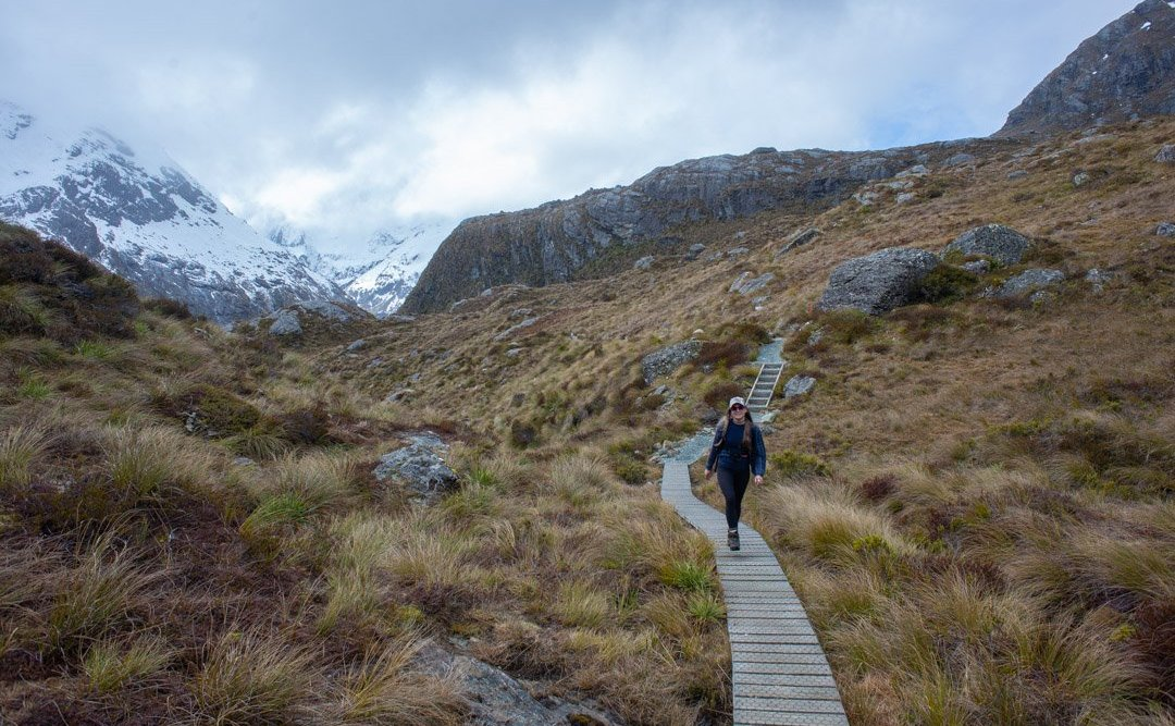 the routeburn track day hike