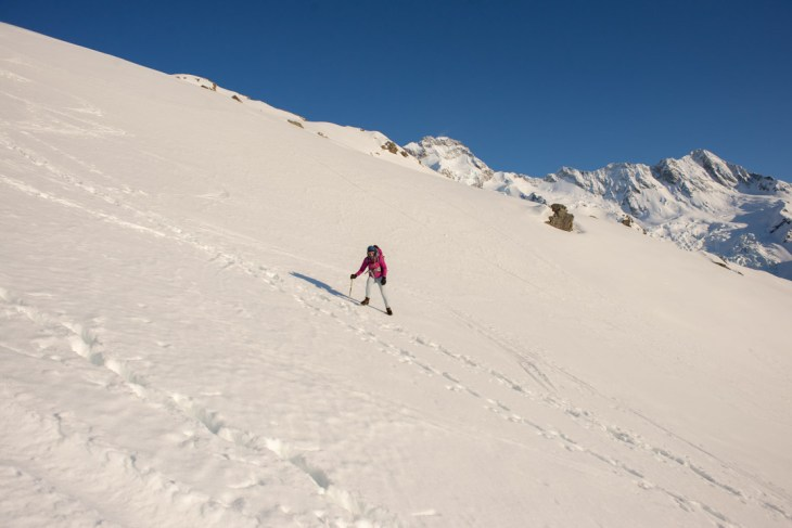 hiking in crampons