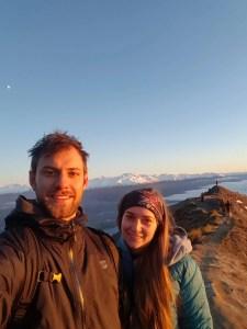 selfie at roys peak