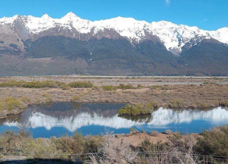 one of the views along the lord of the rings tour in glenorchy