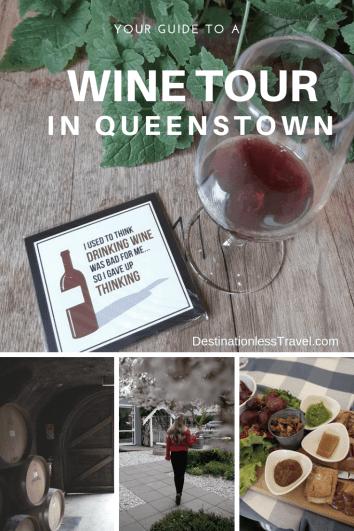 wine tour in queenstown pinterest