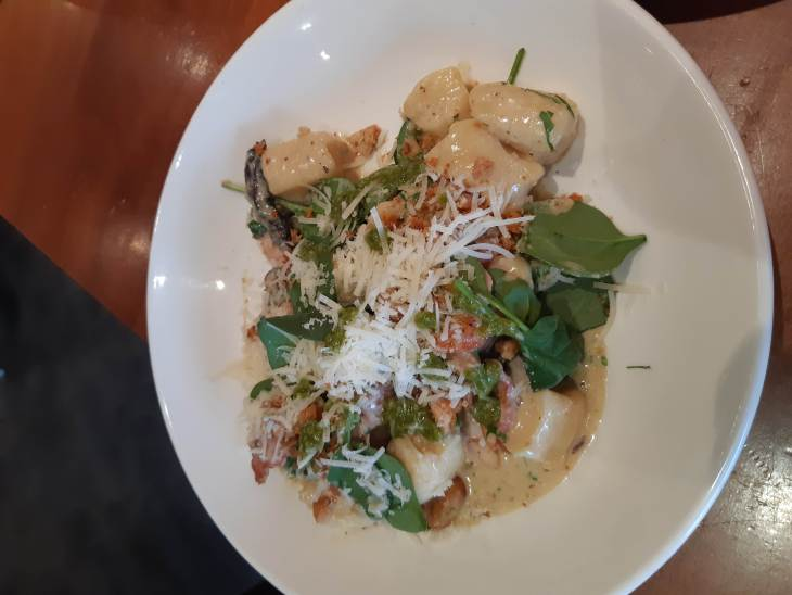 The Gnocchi is a best food in Queenstown