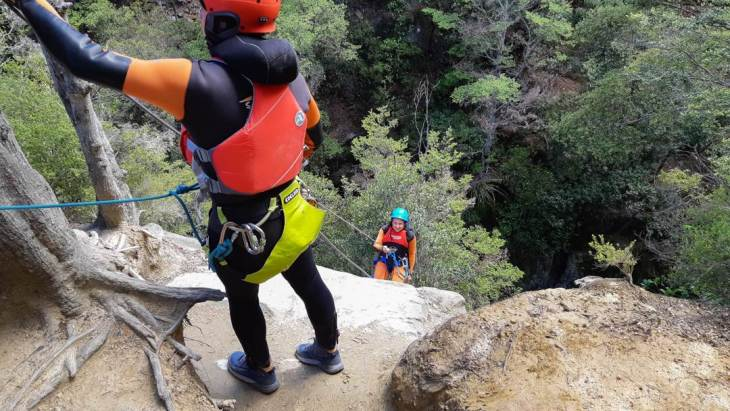 Canyoning in Queenstown adventure sport