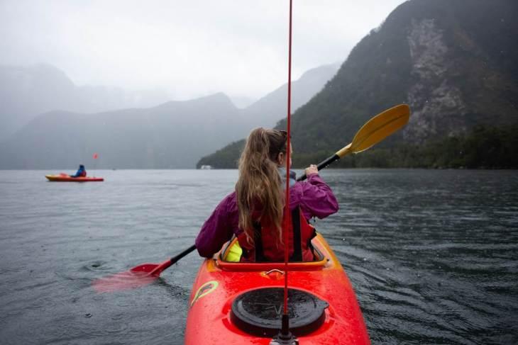 Kayaking tours in Milford Sound