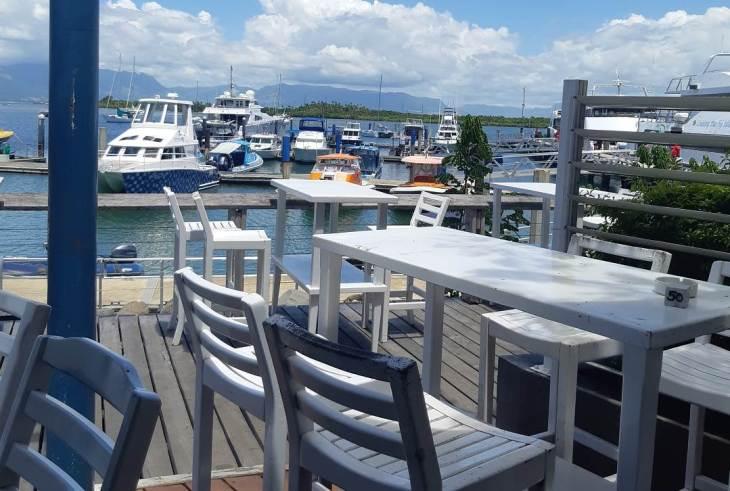 views from lunch at port denarau
