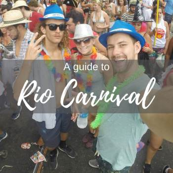 Rio carnival is the biggest party in the world. See all our tips and info in our Rio carnival travel guide for budget travels