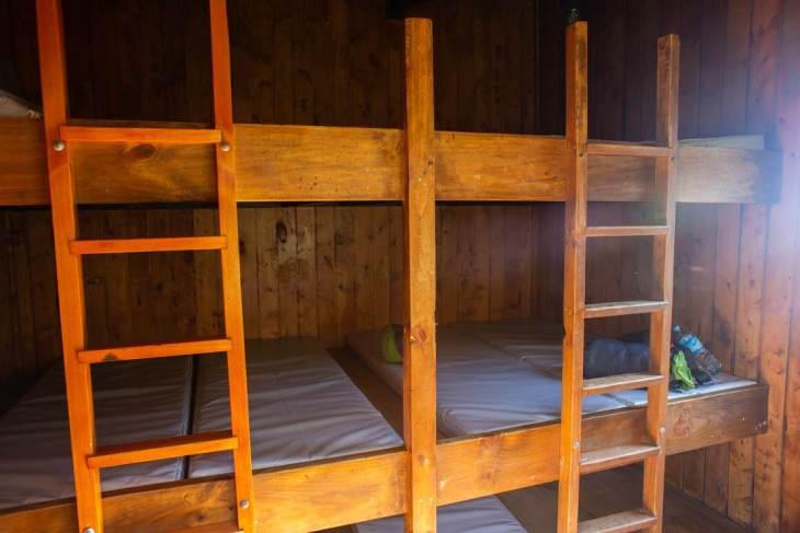 The best view of mount taranaki involves a hike to the Pouakai Hut