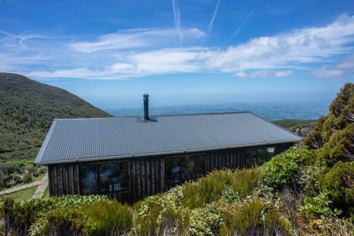 The Pouakai Hut