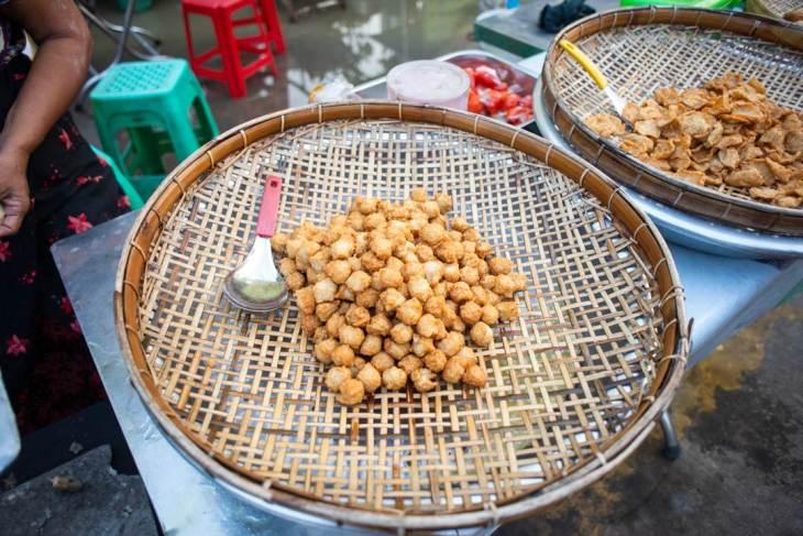 fish balls in yangon myanmar