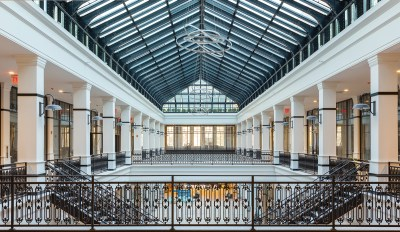 Hahne & Co. Building Atrium Area