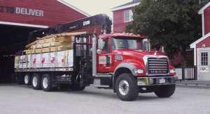Hancock Lumber Truck