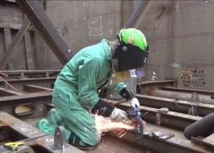 Brianna at Bath Iron Works