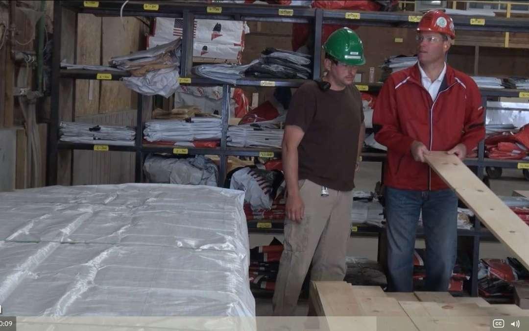 Matt inspecting a board