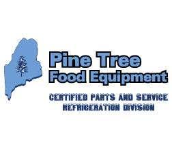Pine Tree Food Equipment Logo Refrigeration