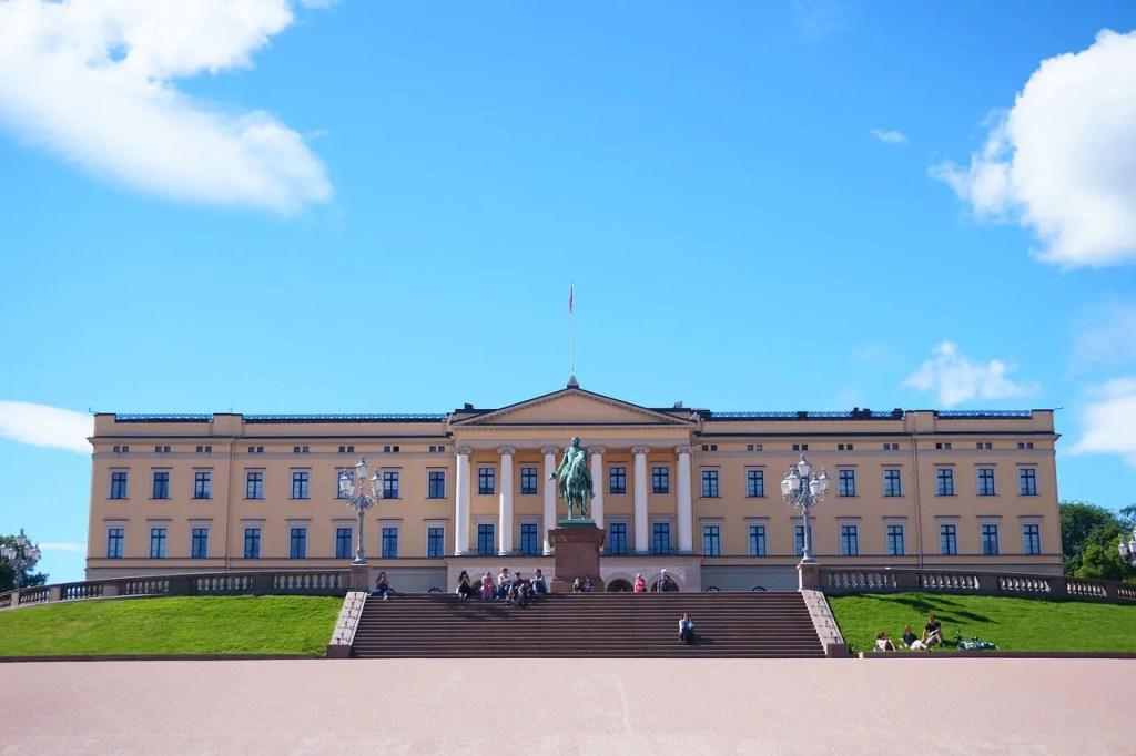 Palais royal oslo choses faire