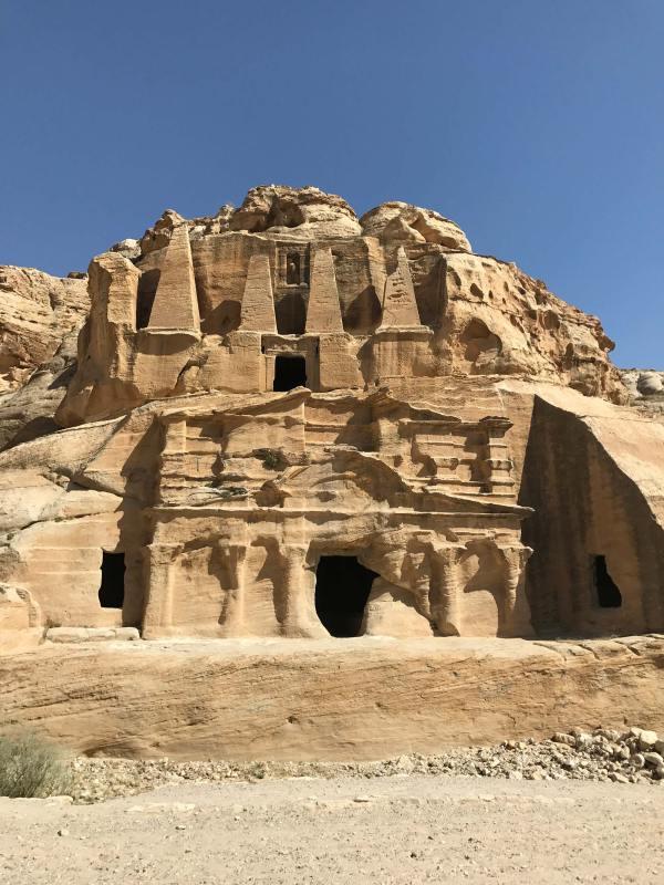 Nabataen Temple , Petra