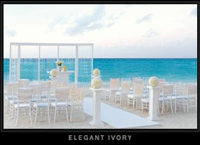 Elegant Ivory Colin Cowie Wedding Collection