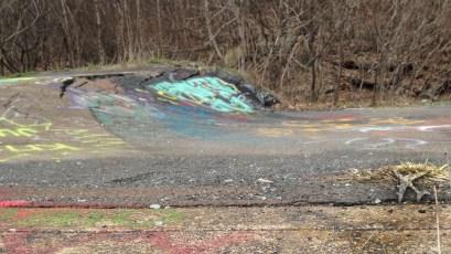 Centralia Highway 61 collapsing