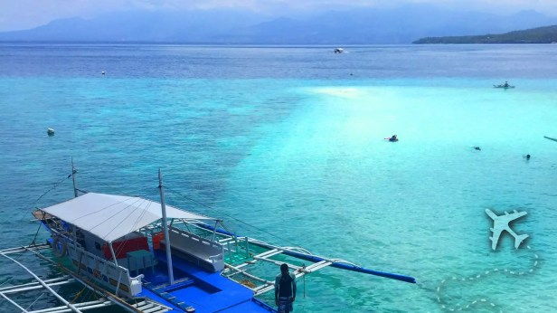 Similon Island Sand Bar in the Philippines