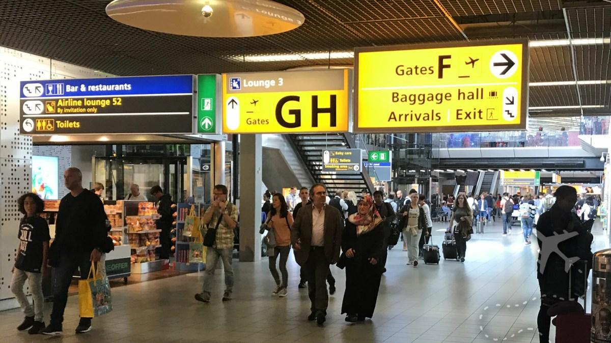 Amsterdam Schiphol Airport Terminals