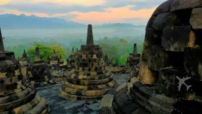 Candi Borobudur in Indonesia