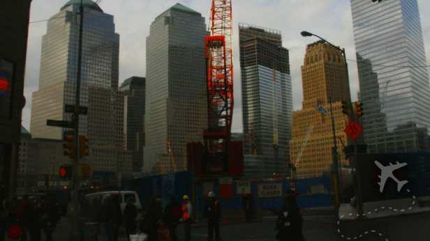 Ground Zero in NYC - 2006