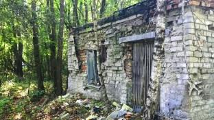 Guard shack at Duga-1 entrance