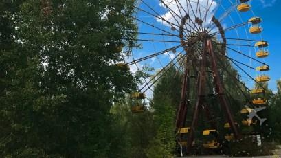 Amusement park at Pripyat