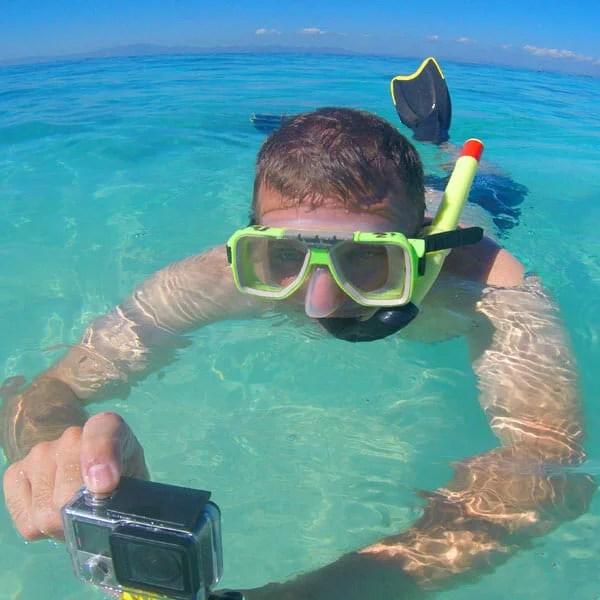 Sean Brown in Fiji