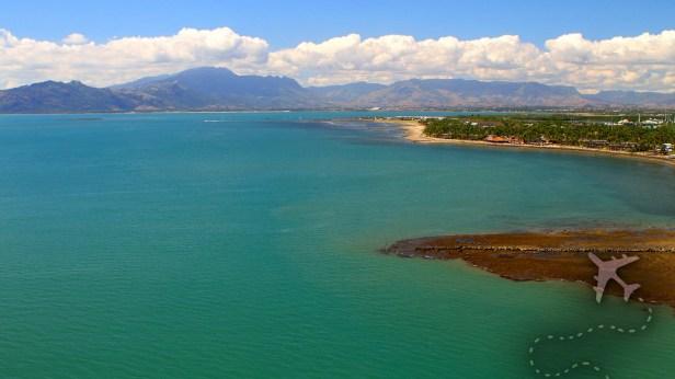 Denarau Island from the air