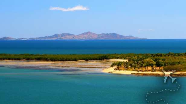 Parasailing in Fiji