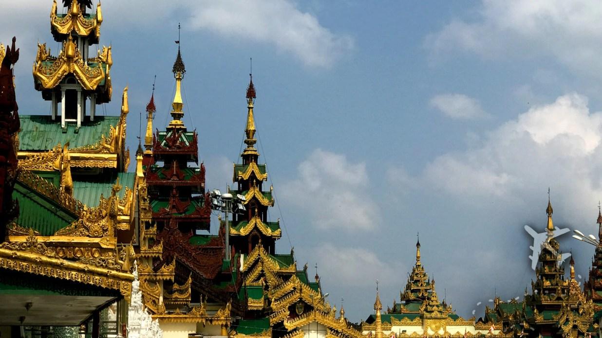 Buddhist Temple Myanmar