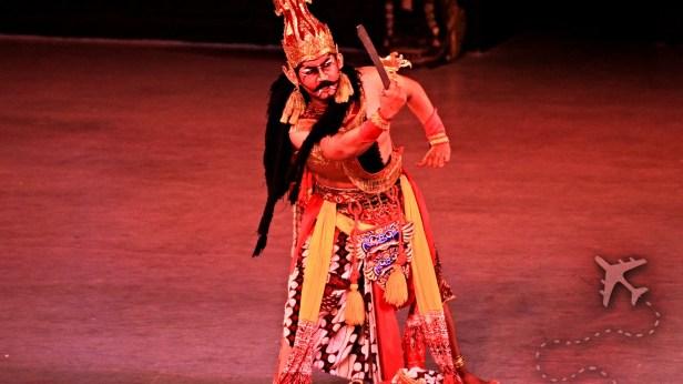 Ramayana Ballet next to Prambanan