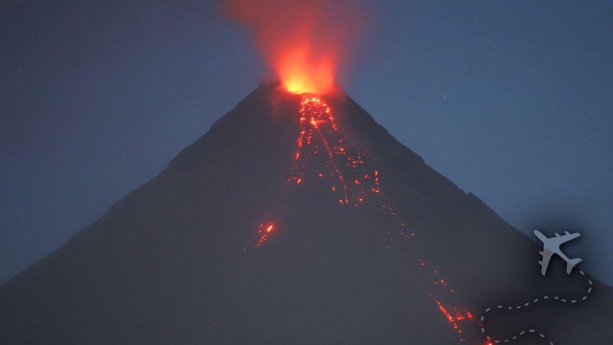 Mayon Volcano 2018 eruption