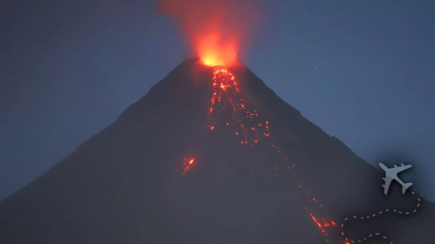 Mayon Volcano 2018 eruption