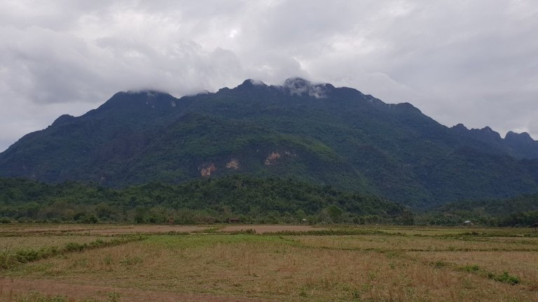 Campagne autour de Vang Vieng
