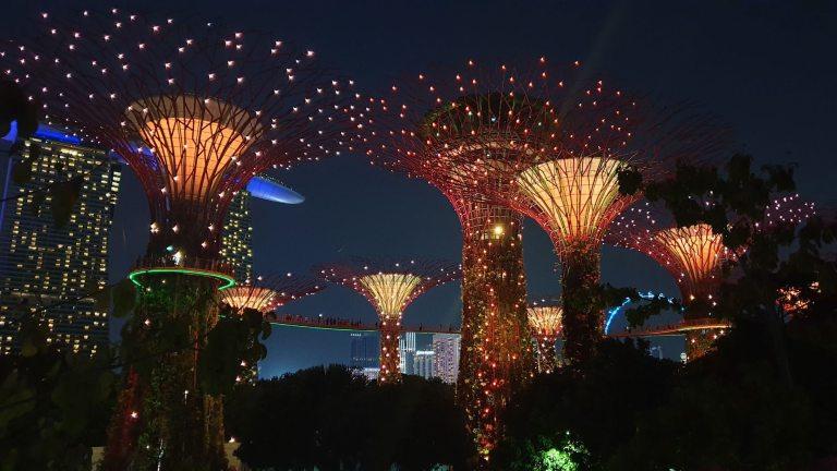 spectacle Garden Rhapsody Singapour