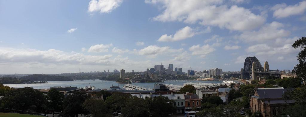 Observatory Hill Park Sydney