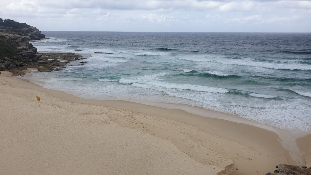 Littoral entre Bondi Beach et Coogee Beach Sydney