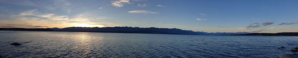 coucher du soleil lac Pukaki