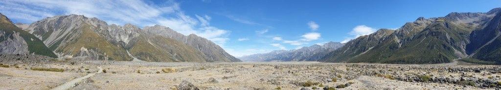 Randonnée Tasman River Mont Cook