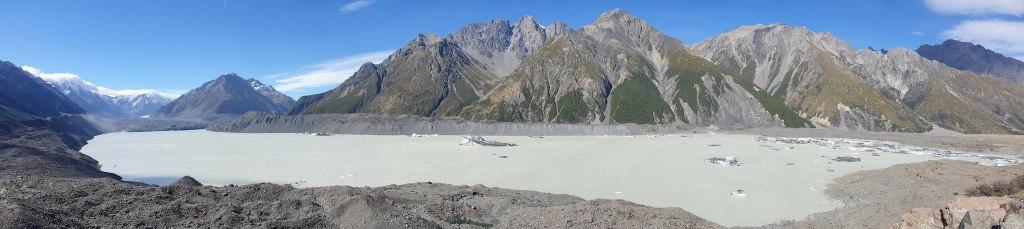 Tasman Glacier View Mont Cook