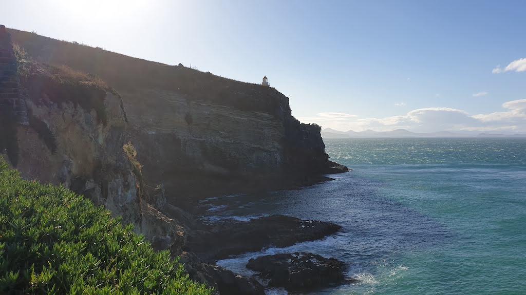Clifftop viewing area à Harington point Péninsule d'Otago