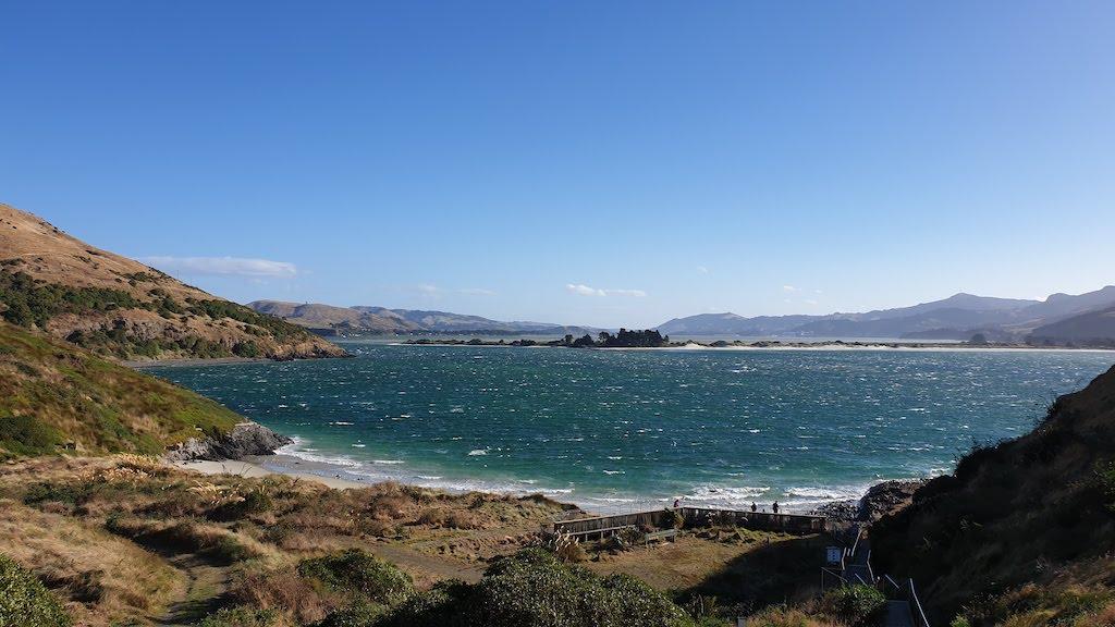 Pilots Beach à Harington point Péninsule d'Otago