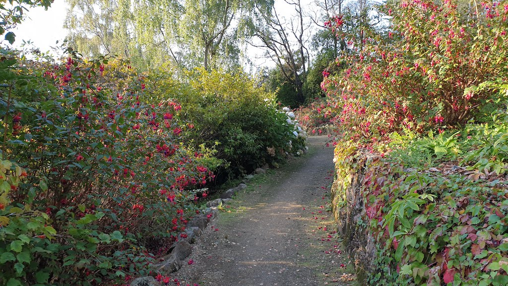 Glenfalloch Woodland Garden Péninsule d'Otago